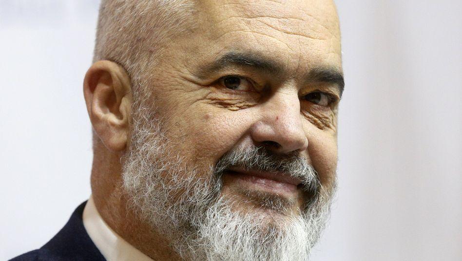 """Edi Rama: """"Wir haben alle Voraussetzungen für den Beginn der Verhandlungen erfüllt."""""""