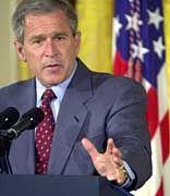 Enttäuscht die Forscher: George W. Bush
