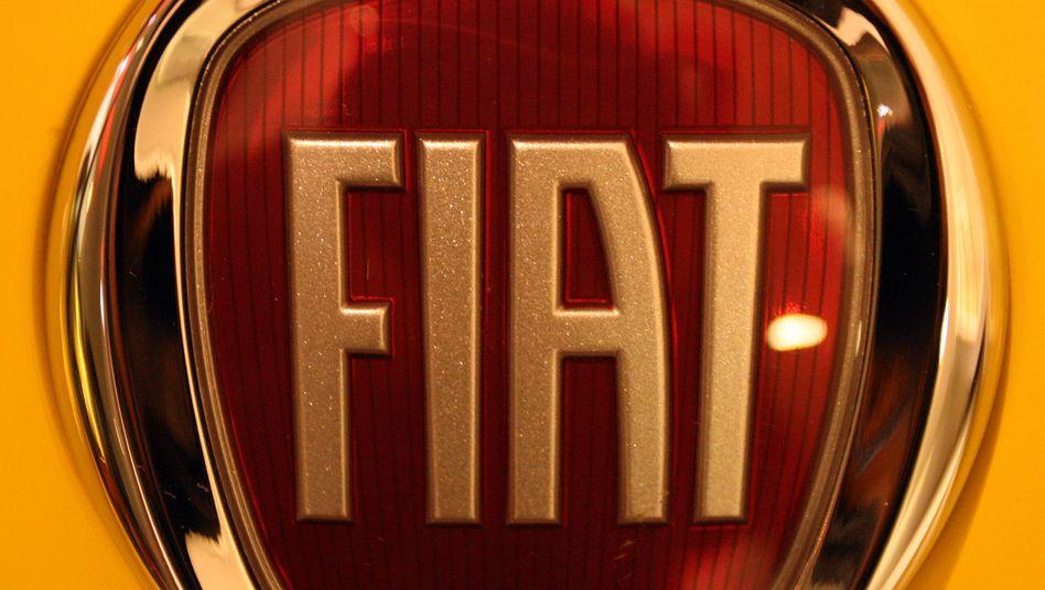 Fiat-Logo: Der italienische Konzern hält 30 Prozent an Chrysler