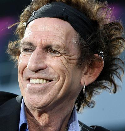 Keith Richards: Scherze über die Asche seines Vaters
