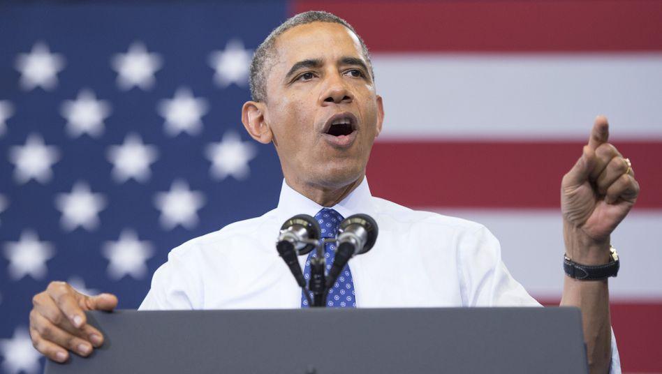 """US-Präsident Obama: """"Kühne Taten"""" für den Klimaschutz"""