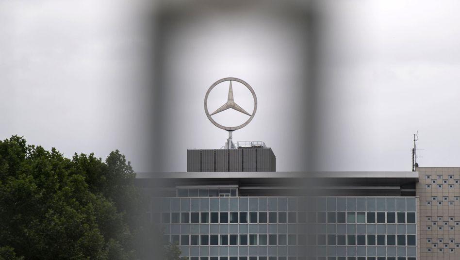 Mercedes-Werk in Untertürkheim