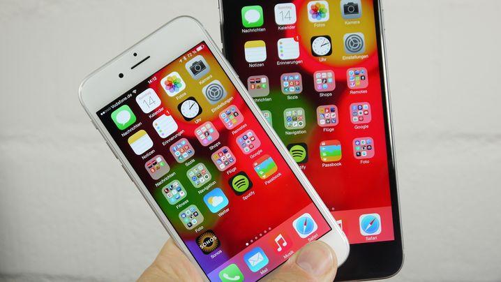 Neue Apple-Smartphones: iPhone 6 und iPhone 6 Plus im Test