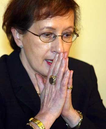 Tritt wieder an: Heide Simonis (SPD)