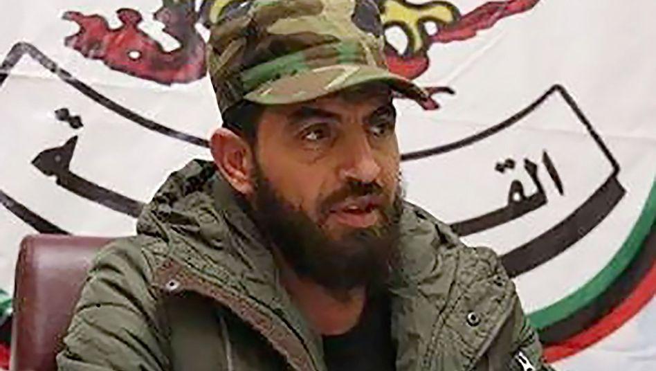 Warlord Mahmoud al-Werfalli