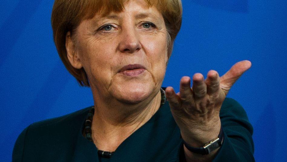 Bundeskanzlerin Angela Merkel: Unmut über SPD-Entscheidung
