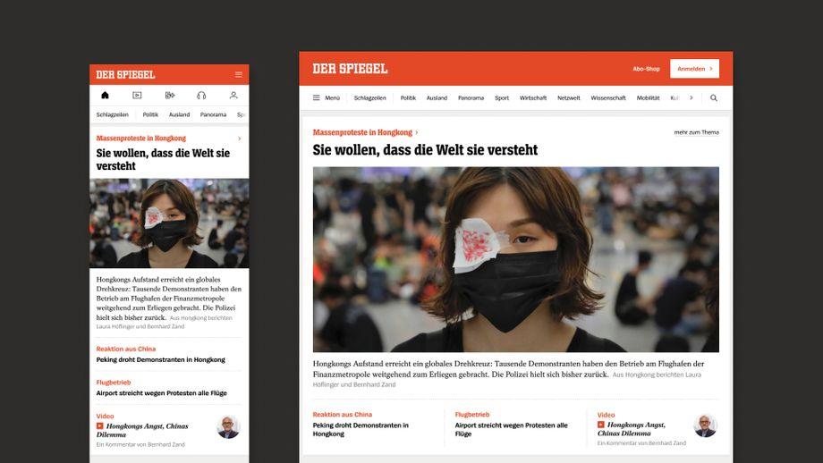 Themenblöcke auf der Homepage: Inhalte zu einem Thema sind nun übersichtlich gebündelt und auf einen Blick erschließbar