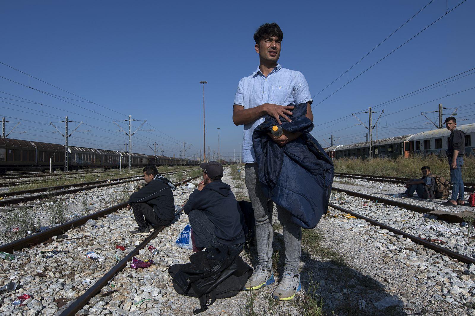 EINMALIGE VERWENDUNG Yosef/ Griechenland/ Flüchtling