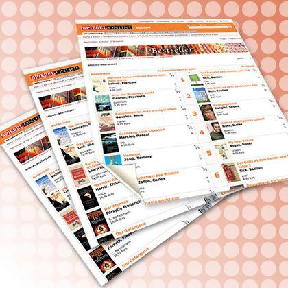 Taschenbuch-Bestsellerliste: Schneller wissen, was lesenswert ist. Klicken Sie auf das Bild ...