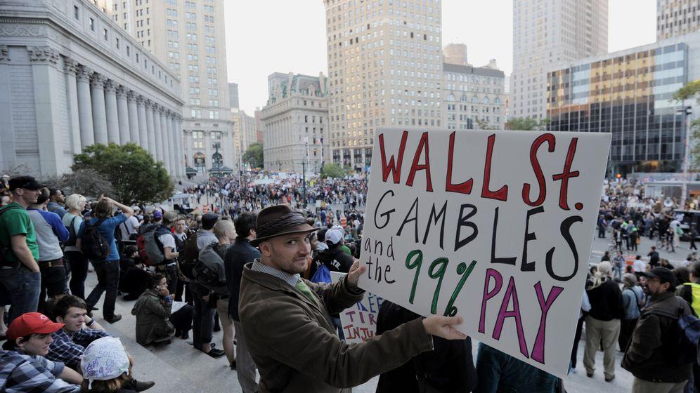 """Protest an der Wall Street: """"84 Jahre alt - und stinksauer"""""""