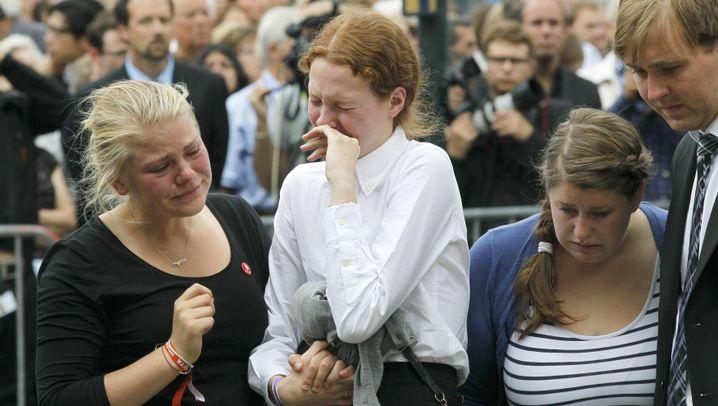 Oslo: Bewegende Trauerfeier für die Toten
