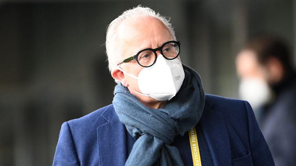 DFB-Präsident Fritz Keller steht massiv in der Kritik