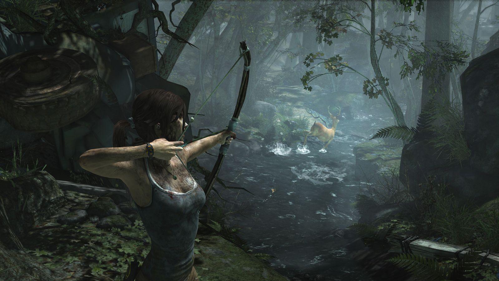 EINMALIGE VERWENDUNG Tomb Raider / Hunt to live