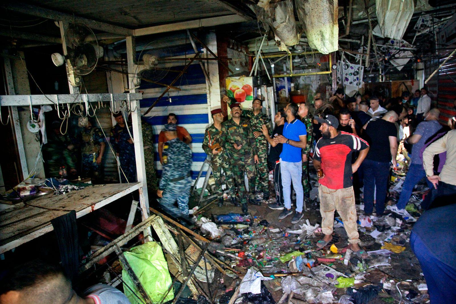 Anschlag auf Markt in Bagdad