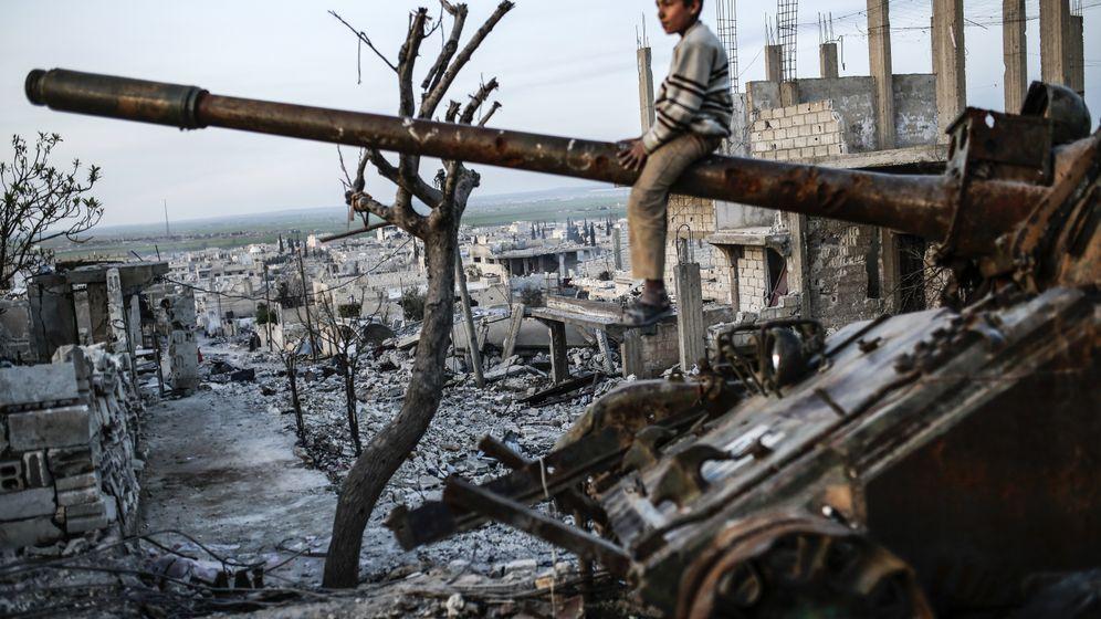 Bürgerkrieg: Zerstörter Alltag in Syrien