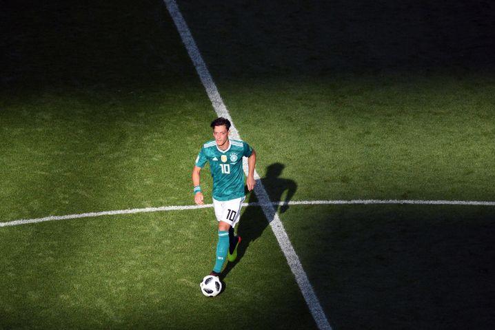 Mesut Özils letztes Spiel für die deutsche Nationalelf: ein 0:2 gegen Südkorea bei der WM 2018. Danach trat er zurück