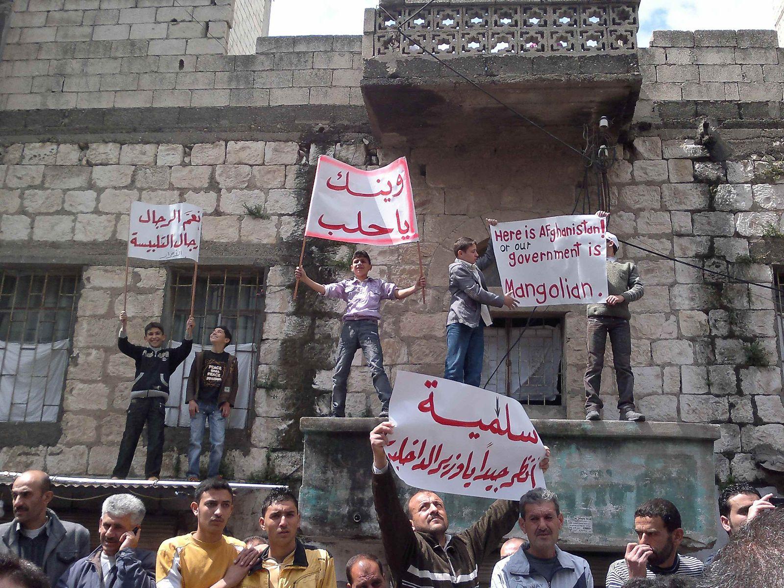 Proteste Syrien Samstag