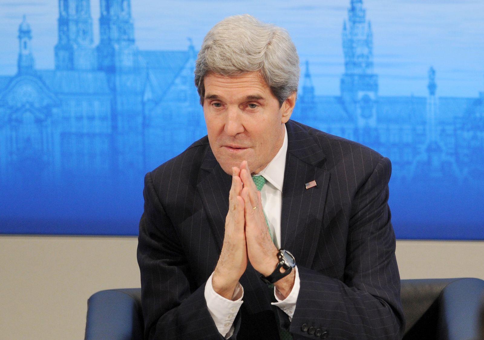 John Kerry Münchner Sicherheitskonferenz