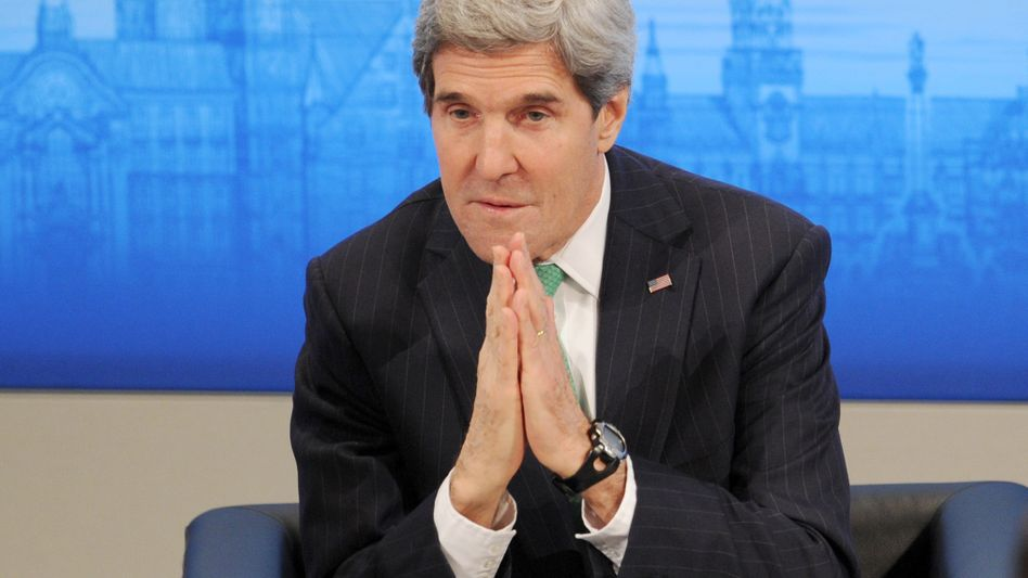 Außenminister John Kerry in München: Lieber nach vorne schauen