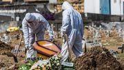 Mehr als tausend Corona-Tote binnen einem Tag