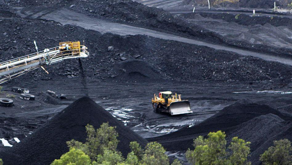 Australische Kohlemine: Rückgrat der Energieversorgung