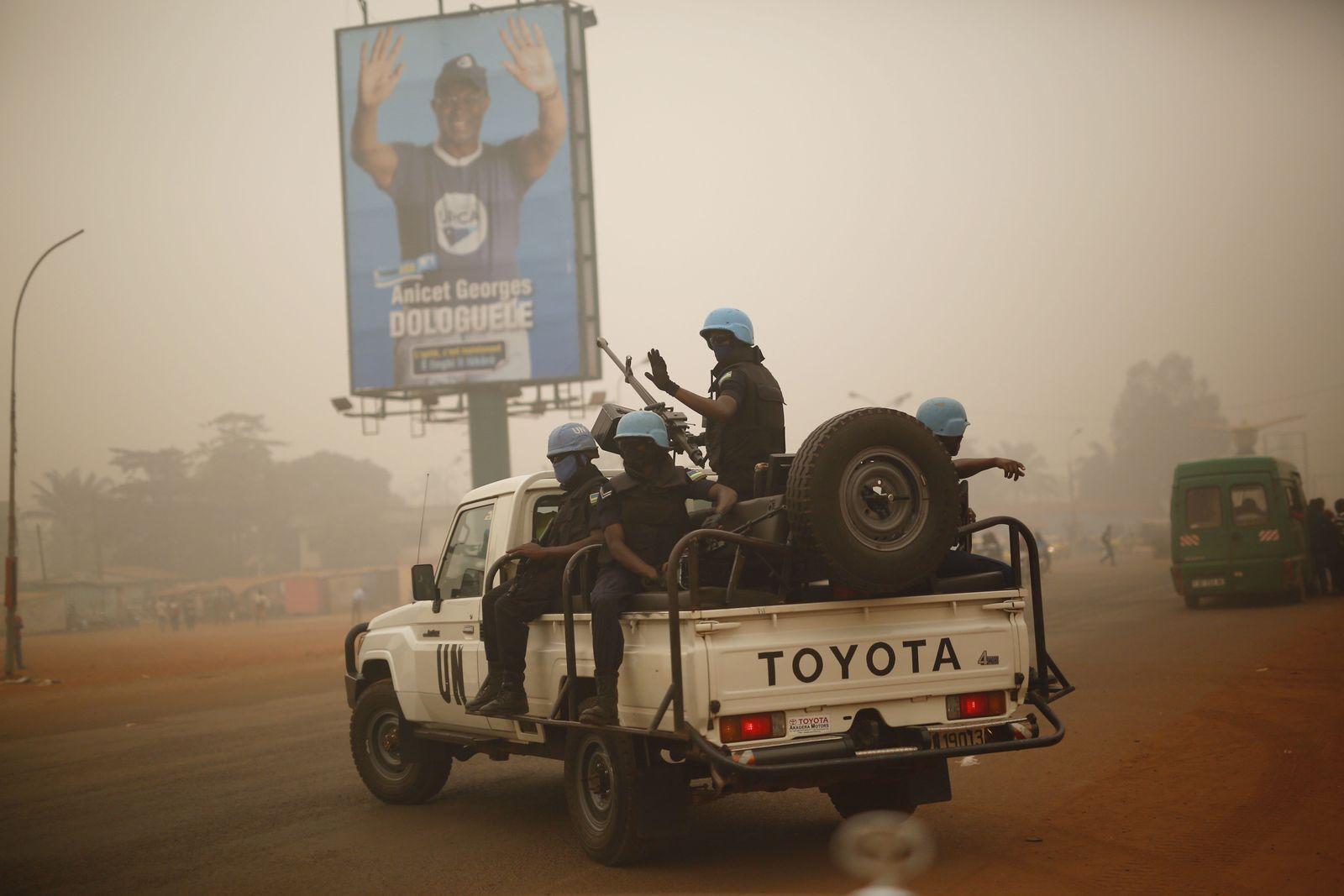 UNO-Blauhelme / Zentralafrikanische Republik / Minusca
