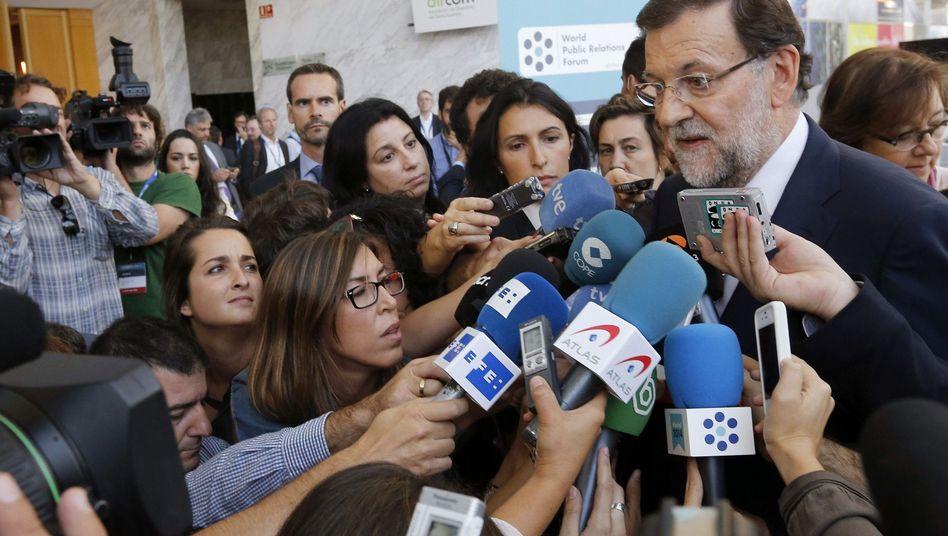 """Premier Rajoy: """"Die einzig vernünftige Entscheidung"""""""