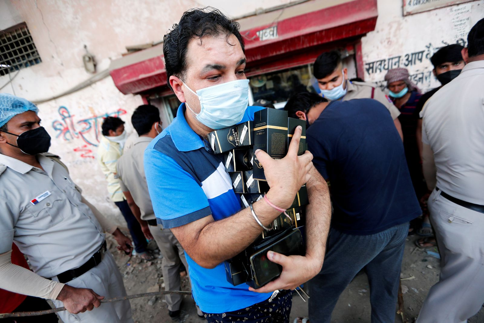 Extended nationwide lockdown to slow down the spread of coronavirus disease (COVID-19) in New Delhi