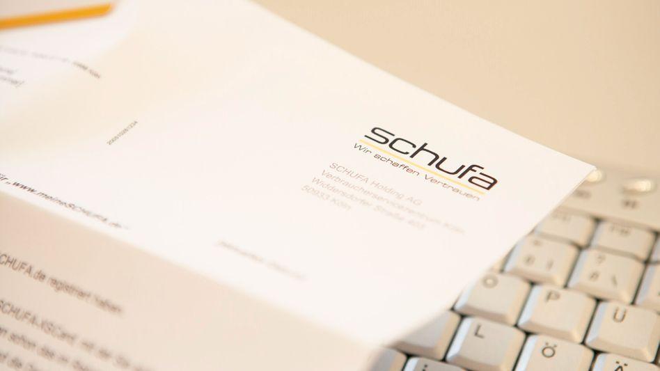 Schufa-Brief: Forschungsinstitut sollte versuchen, Internetquellen anzuzapfen