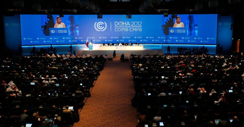 Klimagipfel in Doha, Katar (im November): Hochtrabende Ziele, Mangel an Umsetzung
