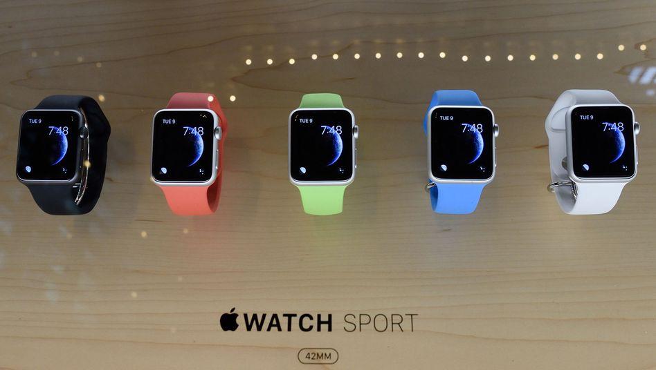 Apple Watch: Probleme mit einem Zulieferer aus China