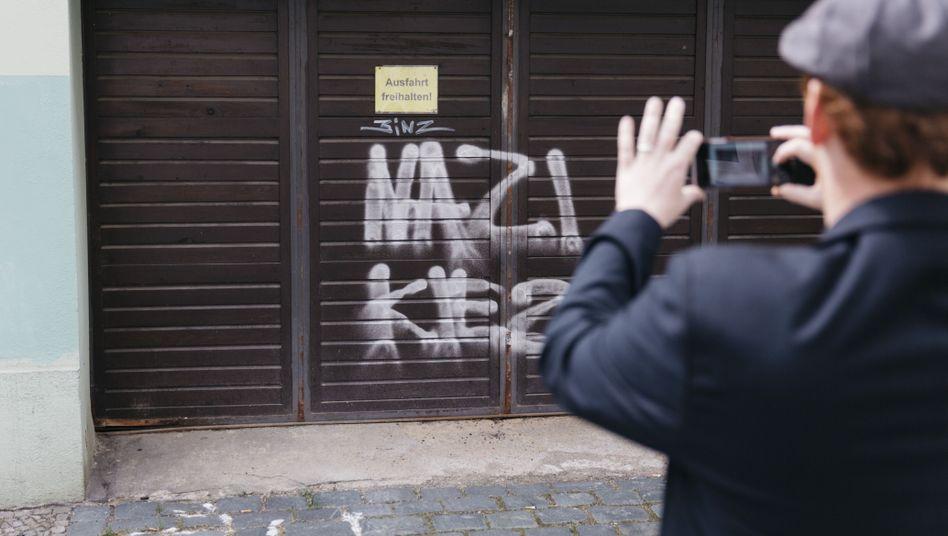 Graffiti in Bautzen