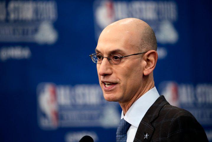 NBA-Commissioner Adam Silver