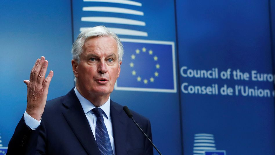 EU-Brexit-Unterhändler Michel Barnier
