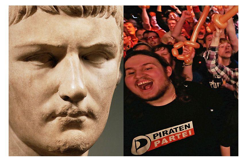 NUR FÜR EINESTAGES - Caligula und die Piratenpartei
