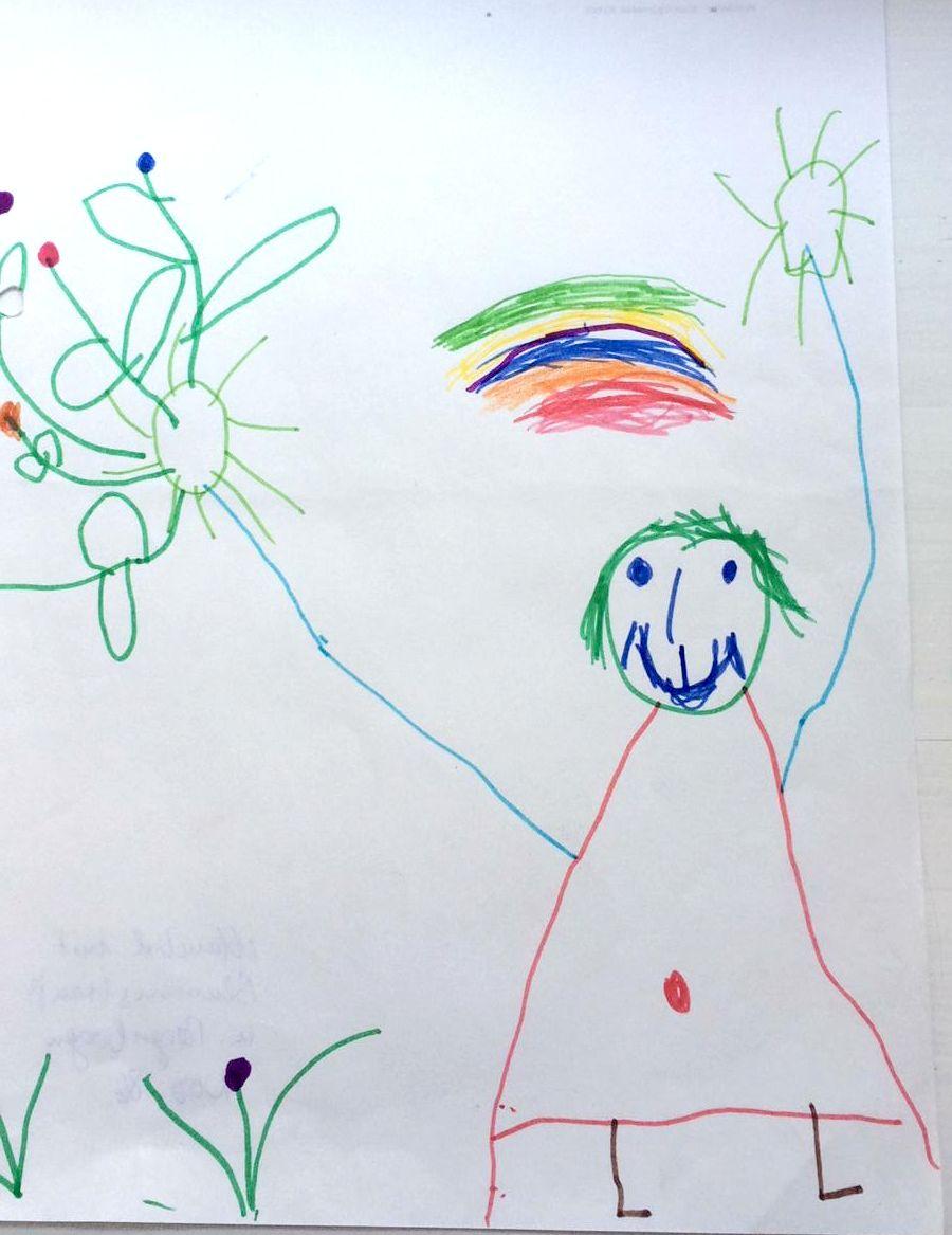 Kindergemaelde/ spon/ Theresa Lettner