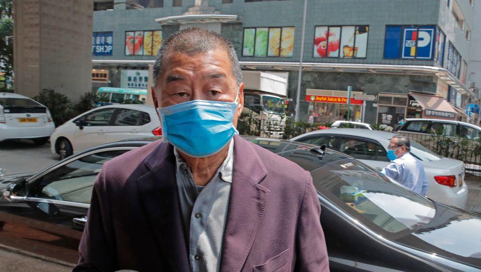 Hongkonger Medientycoon Jimmy Lai: »Vielleicht ist es an der Zeit, dass ich der Freiheit etwas zurückgebe, indem ich für sie kämpfe« (Archivbild)