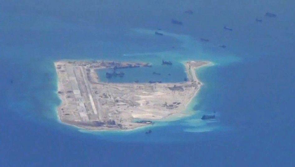 Spratly-Inseln im Südchinesischen Meer
