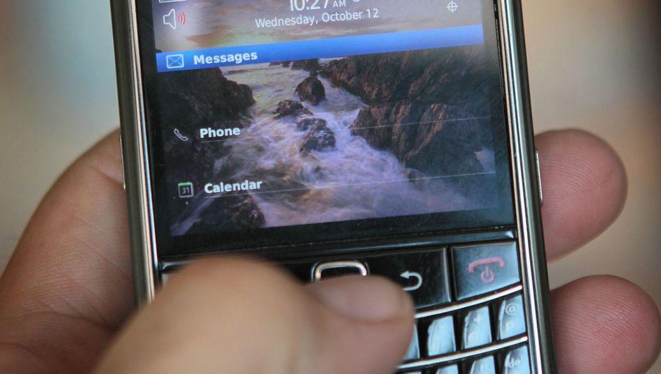 Blackberry (Symbolbild): Netzwerkprobleme sollen so gut wie behoben sein