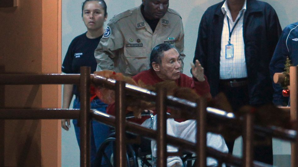 Panamas Ex-Diktator Manuel Noriega