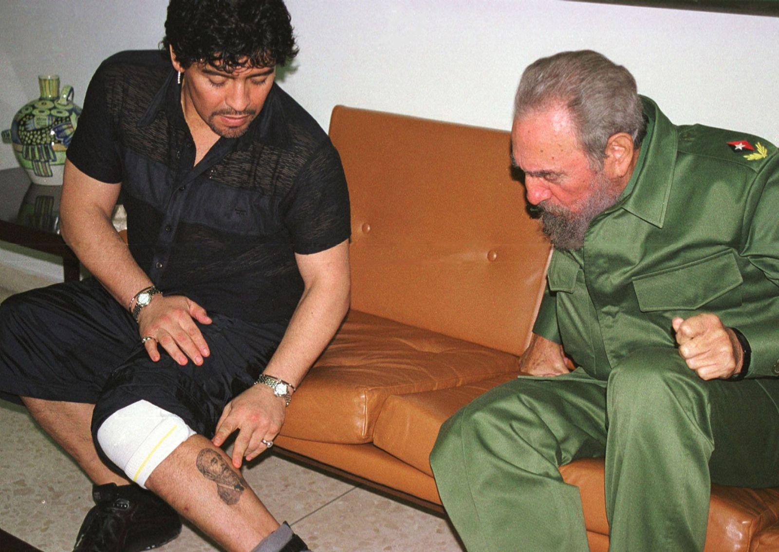 Maradona / Castro 2004