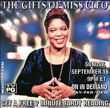 Hollywood-Wahrsagerin Miss Cleo: Die Zukunft für 4,99 Dollar