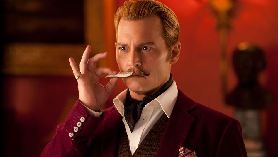 Johnny Depp als Charlie Mortdecai: Gaunerkomödie ohne Fortune