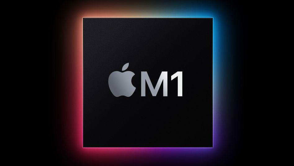 Apple-Werbefoto des M1: Der Erste seiner Art