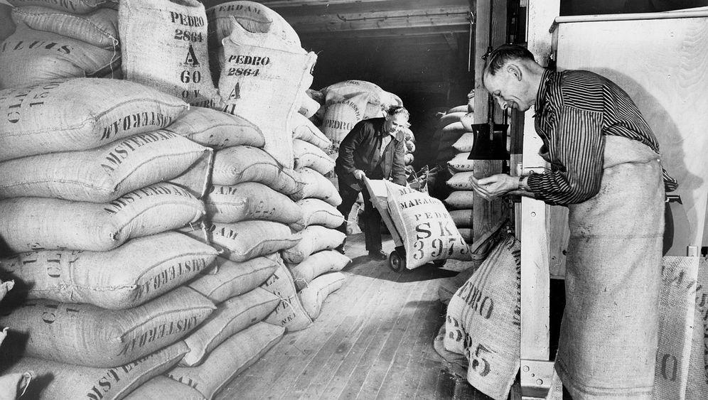 Handel im Hamburger Freihafen: Europas größter Kaffeemarkt