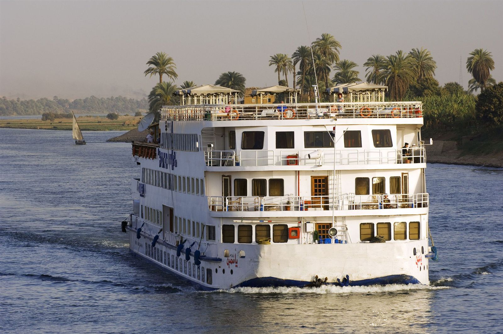 Nil / Kreuzfahrt / Fluss