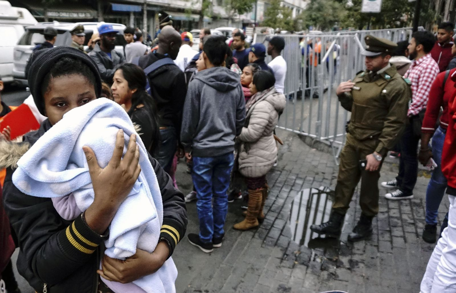 Chile/ Migranten/ Venezuela