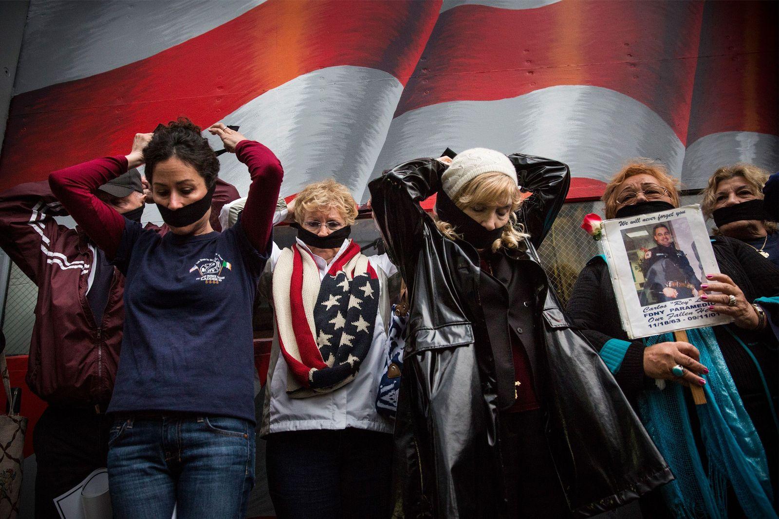 9-11 / New York / Proteste