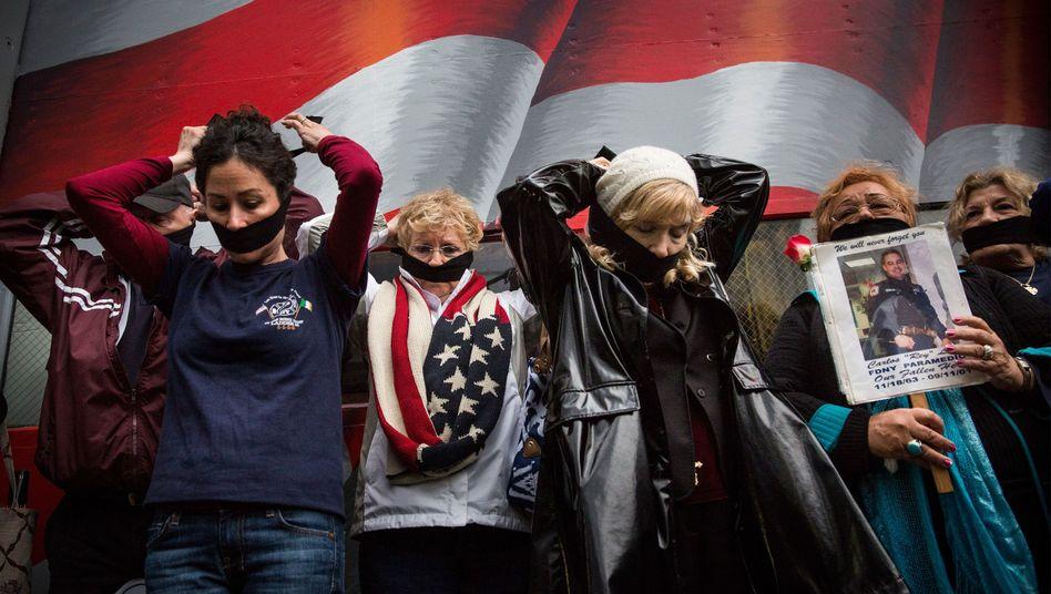 Angehörige von 9/11-Opfern in New York: Die alte Angst lauert