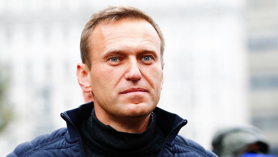 Alexej Nawalny (Archivbild): Angekommen im Straflager